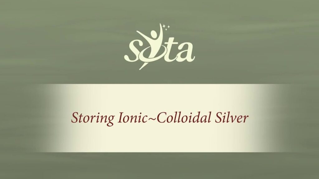 3 Simple Tips for Storing Ionic-Colloidal Silver