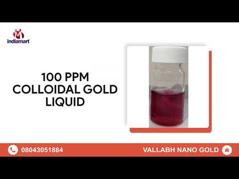 Colloidal Gold And Colloidal Silver Manufacturer