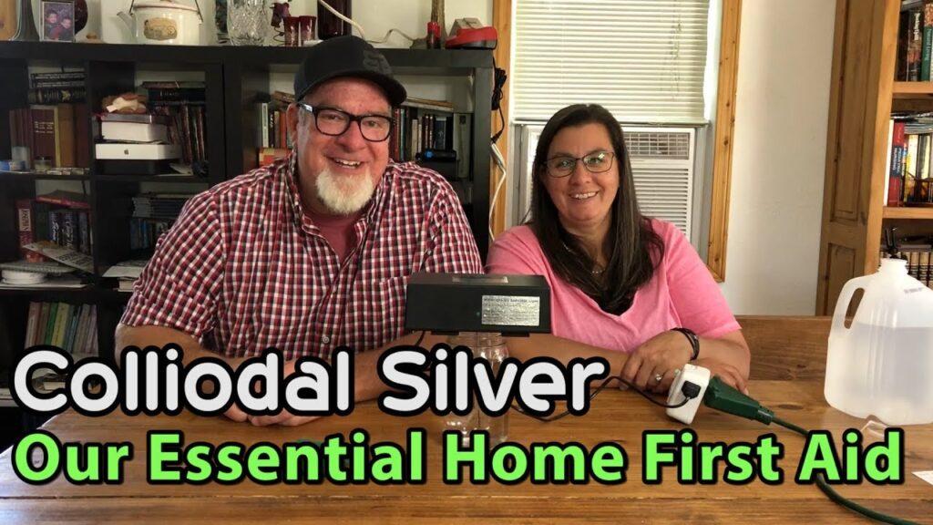 Colloidal Silver Essential Home First Aid