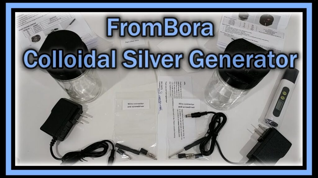 FromBora Colloidal Silver Generator Unboxing (NEW INNOVATIVE EUROPEAN COMPANY)