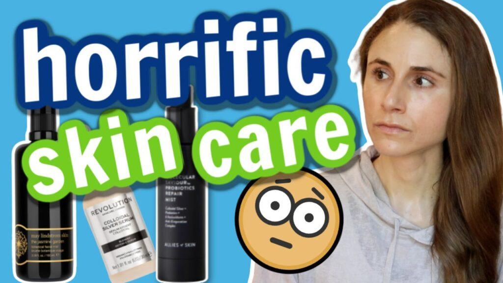 Horrific skin care advice: colloidal silver  Dr Dray