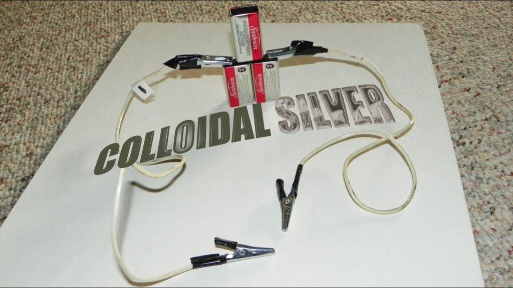 How To Make COLLOIDAL SILVER – The Easy Way