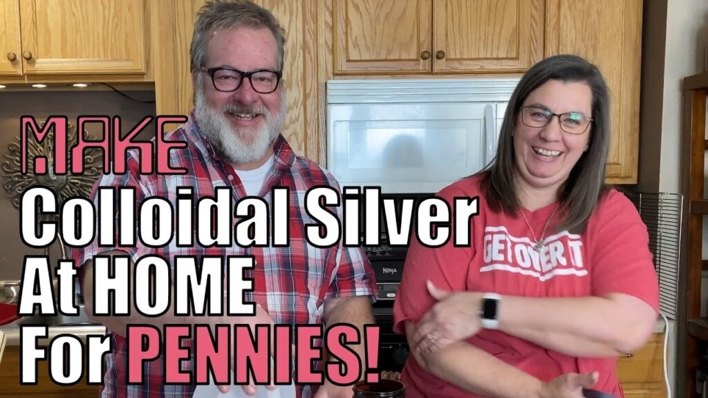 How To Make Colloidal Silver At Home CHEAP