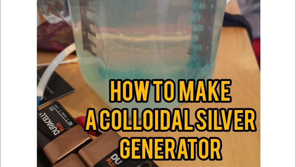 How to make a colloidal silver copper generator in 5min #colloidalsilver #generator #selfsufficiency