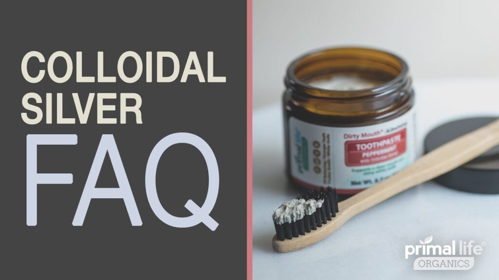 Is Colloidal Silver good for my teeth and gums? | FAQ video