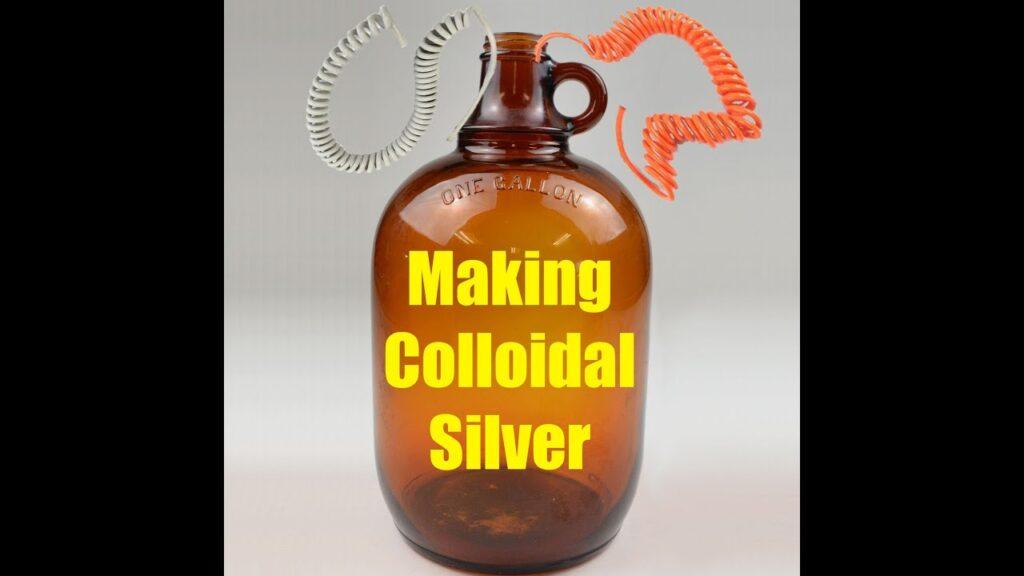 Making Colloidal Silver
