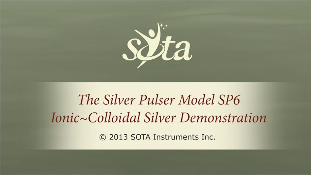 SOTA Silver Pulser – Model SP6 – How to Make Ionic Colloidal Silver