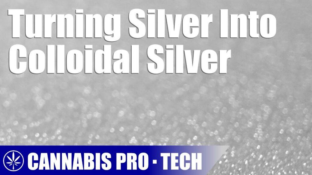Using Pure Silver to Make Colloidal Silver