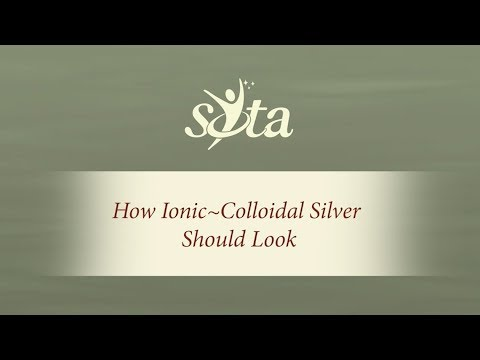 What Should Ionic-Colloidal Silver Look Like?